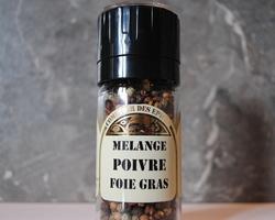 Mélange poivre foie gras