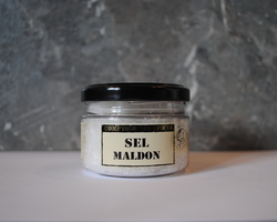 Cristaux de Sel Maldon en flocons