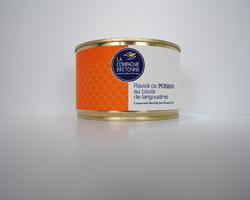 Ravioli de poissons au coulis de langoustines