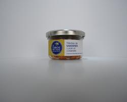Rillettes de Sardines cumin et coriandre